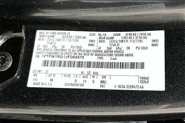 2018 Ford F-150 SuperCrew Cab 4x4, Pickup #PJFD69575 - photo 37