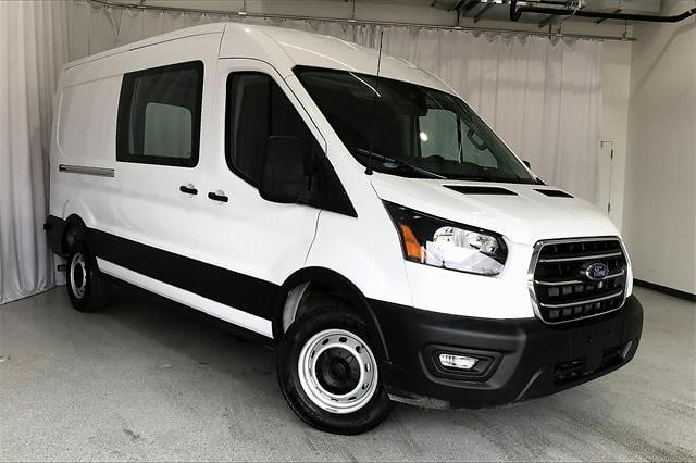 2020 Ford Transit 250 Med Roof 4x2, Empty Cargo Van #PLKB11109 - photo 3