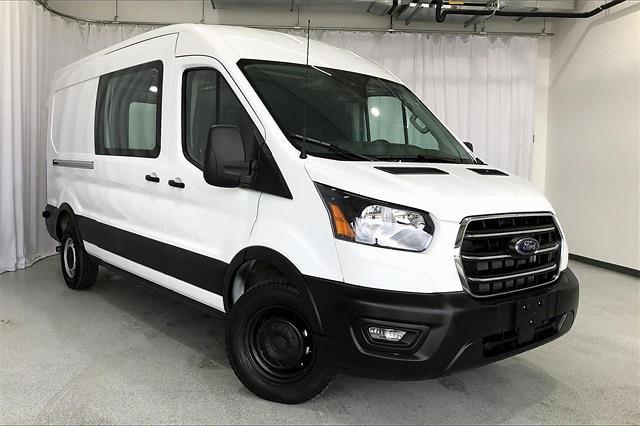 2020 Ford Transit 250 Med Roof 4x2, Empty Cargo Van #PLKB16804 - photo 3