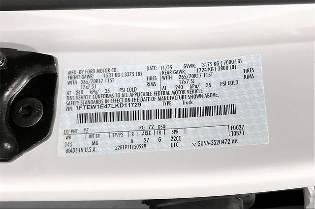 2020 Ford F-150 SuperCrew Cab 4x4, Pickup #PLKD11729 - photo 37