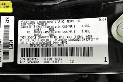2014 Toyota Tundra Crew Cab 4x2, Pickup #TEX169542 - photo 37
