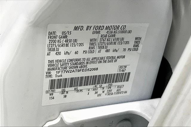 2015 Ford F-250 Crew Cab 4x2, Pickup #TFED52068 - photo 37