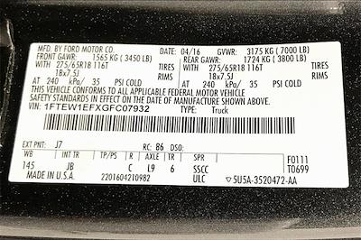 2016 Ford F-150 SuperCrew Cab 4x4, Pickup #TGFC07932 - photo 37