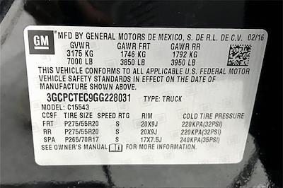 2016 Silverado 1500 Crew Cab 4x2,  Pickup #TGG228031 - photo 37