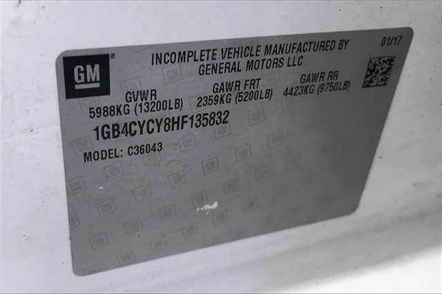 2017 Chevrolet Silverado 3500 Crew Cab RWD, Platform Body #THF135832 - photo 31