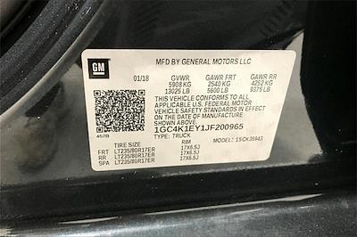 2018 Silverado 3500 Crew Cab 4x4,  Pickup #TJF200965 - photo 37