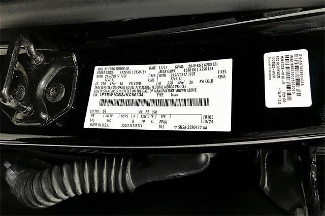 2018 Ford F-150 SuperCrew Cab 4x2, Pickup #TJKC86334 - photo 37