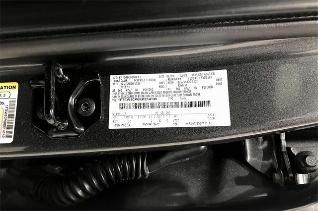 2019 Ford F-150 SuperCrew Cab 4x2, Pickup #TKKE14149 - photo 37