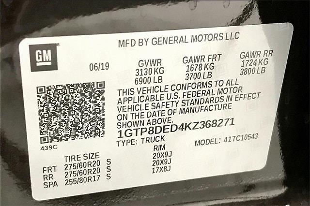2019 GMC Sierra 1500 Crew Cab 4x2, Pickup #TKZ368271 - photo 37