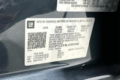 2020 Chevrolet Silverado 1500 Crew Cab 4x4, Pickup #TLG203482 - photo 37