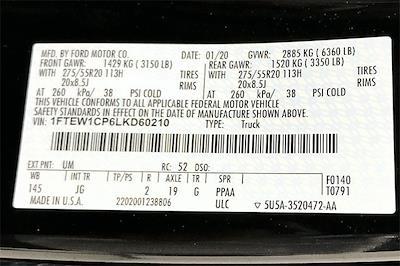 2020 Ford F-150 SuperCrew Cab 4x2, Pickup #TLKD60210 - photo 37