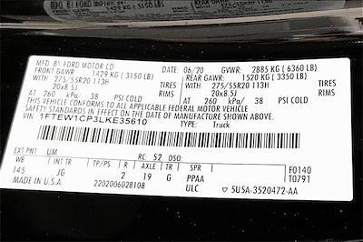 2020 Ford F-150 SuperCrew Cab 4x2, Pickup #TLKE35610 - photo 37