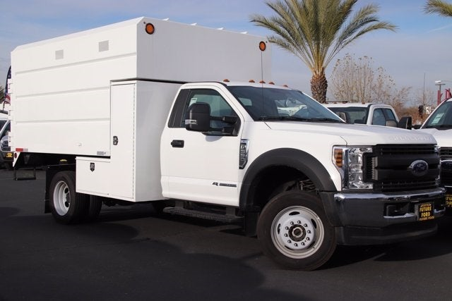 2019 Ford F-550 Regular Cab DRW 4x4, Enoven Chipper Body #CV086646 - photo 1