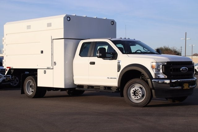 2020 Ford F-550 Regular Cab DRW 4x4, Enoven Chipper Body #CV088274 - photo 1