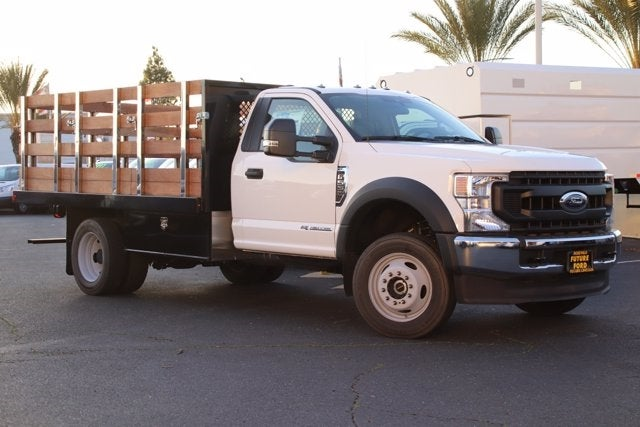 2020 Ford F-550 Regular Cab DRW 4x4, Harbor Stake Bed #CV089295 - photo 1