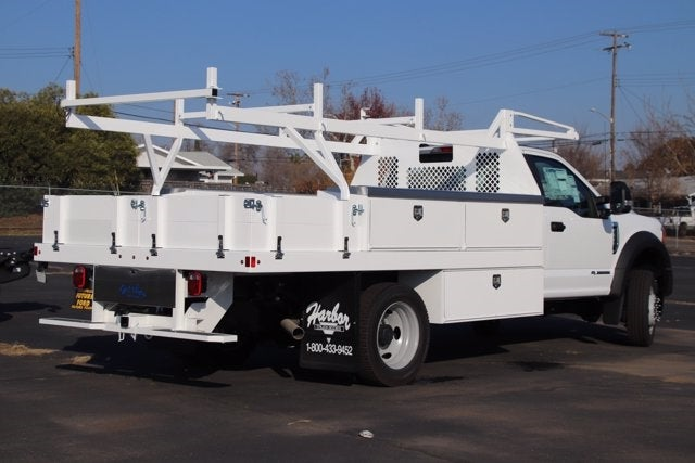 2020 Ford F-550 Regular Cab DRW 4x4, Harbor Contractor Body #CV089463 - photo 1