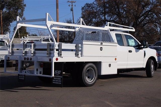 2021 Ford F-350 Super Cab DRW 4x2, Scelzi Contractor Body #CV090982 - photo 1