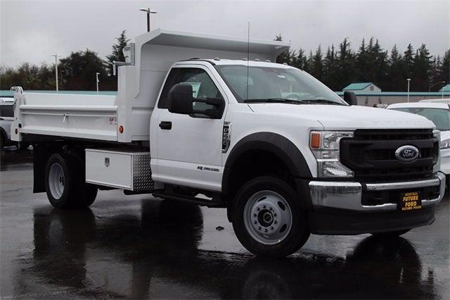 2021 Ford F-550 Regular Cab DRW 4x4, Scelzi Dump Body #CV091571 - photo 1
