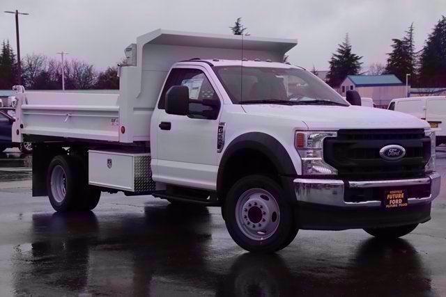 2021 Ford F-550 Regular Cab DRW 4x2, Scelzi Dump Body #CV091650 - photo 1