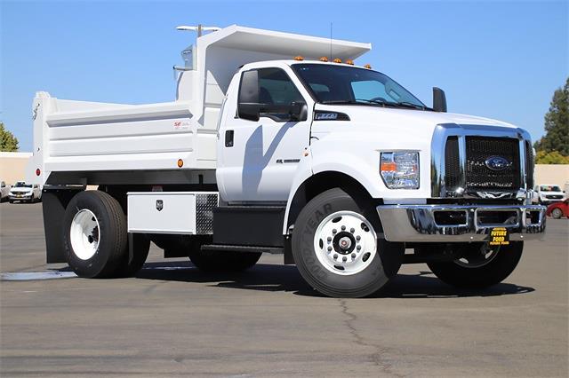 2022 F-650 Regular Cab DRW 4x2,  Scelzi Dump Body #CV092858 - photo 1