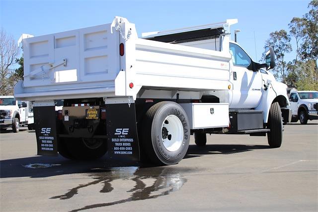 2022 F-650 Regular Cab DRW 4x2,  Scelzi Dump Body #CV092858 - photo 2