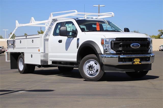 2021 F-550 Super Cab DRW 4x4,  Scelzi CTFB Contractor Body #CV092879 - photo 1