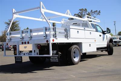 2021 F-550 Super Cab DRW 4x4,  Scelzi CTFB Contractor Body #CV092879 - photo 2
