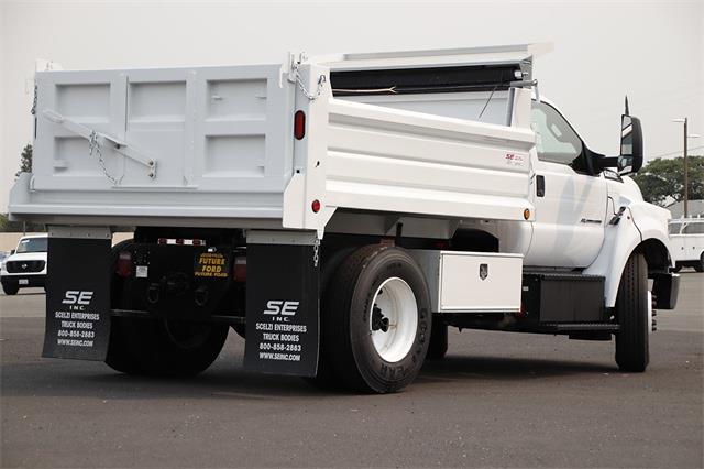 2022 F-650 Regular Cab DRW 4x2,  Scelzi Dump Body #CV093025 - photo 2