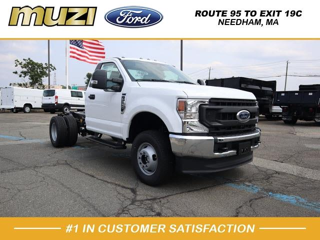 2021 Ford F-350 Regular Cab DRW 4x4, Cab Chassis #E01509 - photo 1
