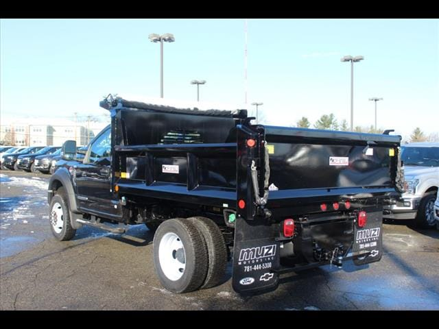 2019 F-550 Regular Cab DRW 4x4, Crysteel Dump Body #KA21323 - photo 1
