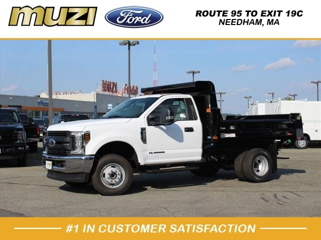 2019 F-350 Regular Cab DRW 4x4, Rugby Dump Body #KA23298 - photo 1