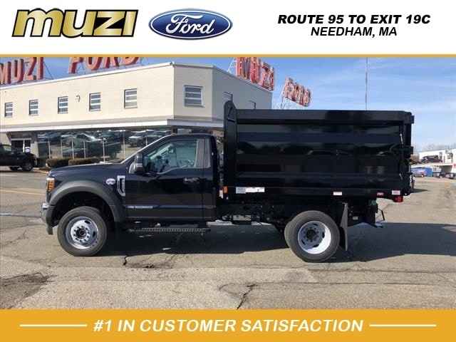 2019 F-550 Regular Cab DRW 4x4, Rugby Landscape Dump #KG28647 - photo 1