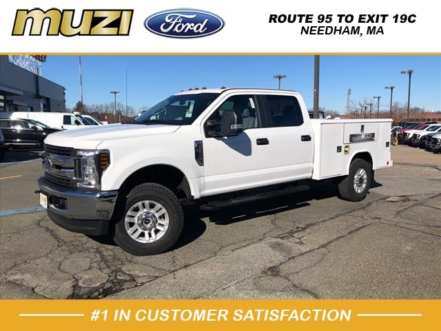 2019 F-350 Crew Cab 4x4, Reading Service Body #KG28651 - photo 1