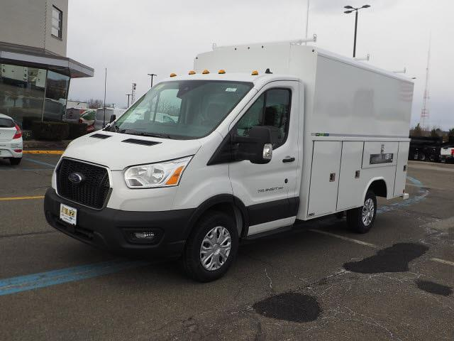 2020 Ford Transit 350 4x2, Reading Aluminum CSV Service Utility Van #LB75932 - photo 3