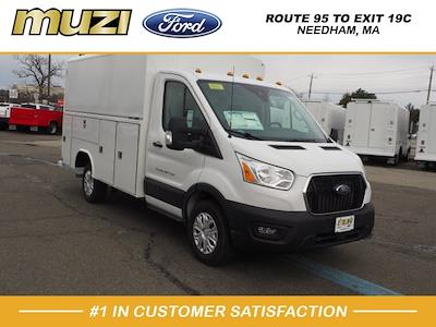 2020 Ford Transit 350 4x2, Reading Aluminum CSV Service Utility Van #LB75932 - photo 1