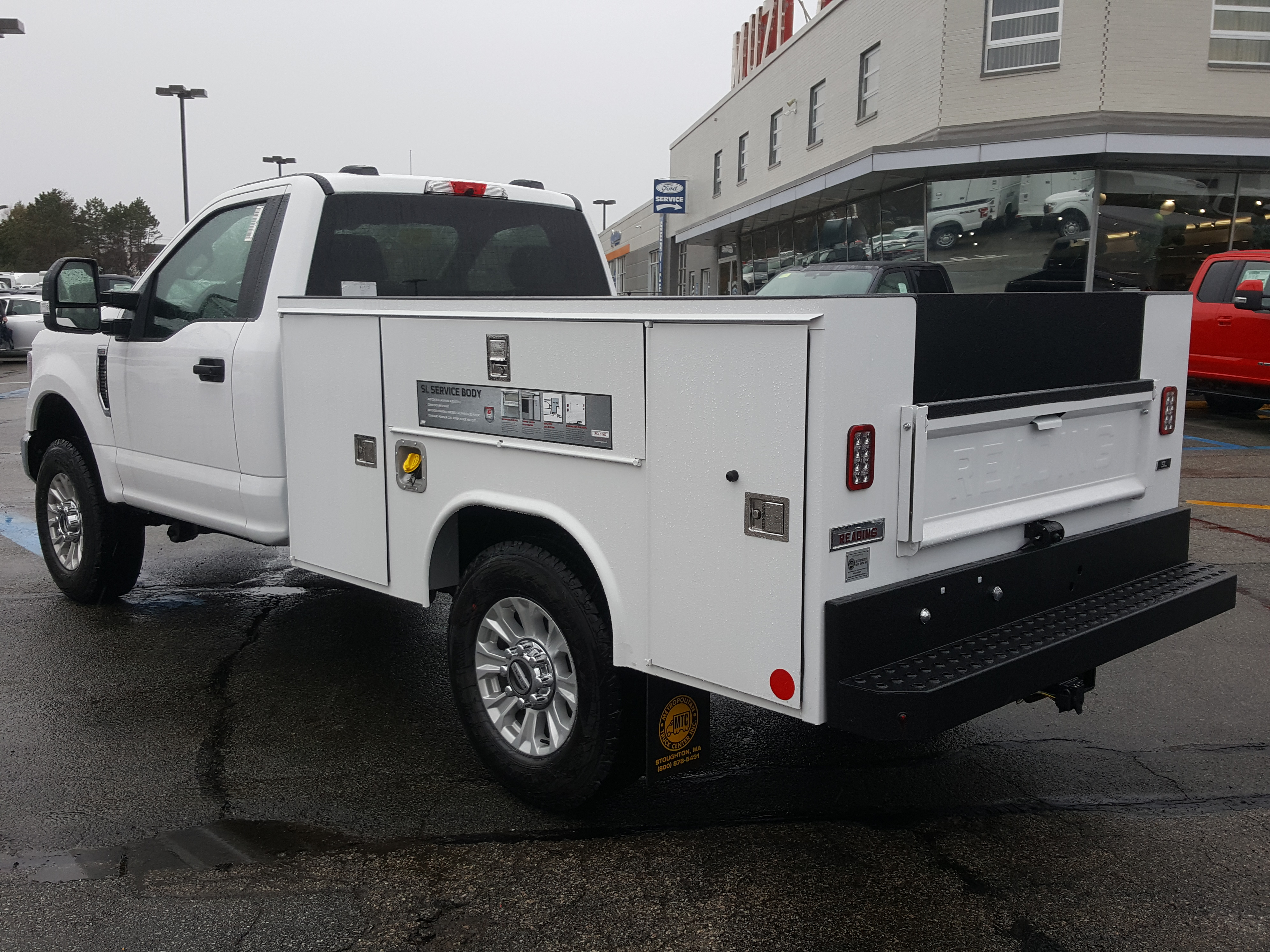 2020 Ford F-250 Regular Cab 4x4, 8' READING SL STEEL SERVICE BODY WITH LINEX BEDLINER #LC25715 - photo 1