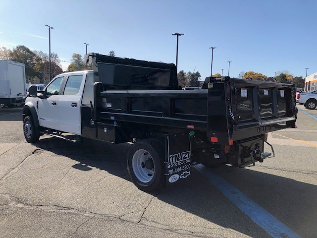 2020 Ford F-550 Crew Cab DRW 4x4, 9' RUGBY DUMP WITH L-PACK TOOLBOX #LE11982 - photo 1