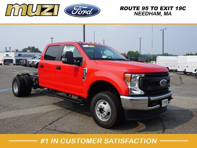 2021 Ford F-350 Crew Cab DRW 4x4, Cab Chassis #MD84352 - photo 1