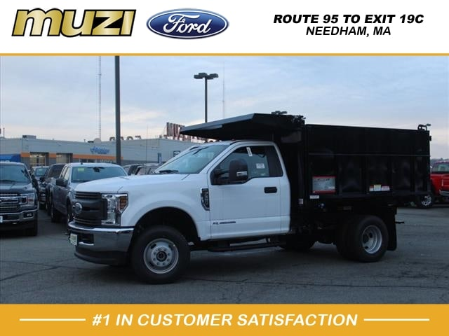 2019 F-350 Regular Cab DRW 4x4, Reading Landscape Dump #SKA02196 - photo 1