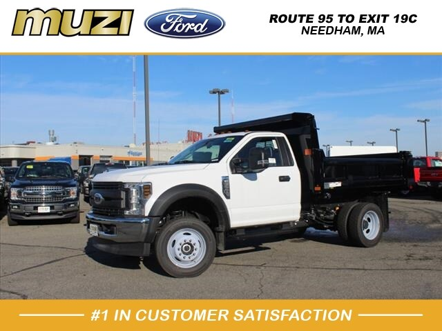 2019 F-550 Regular Cab DRW 4x4, Rugby Dump Body #SKA17897 - photo 1