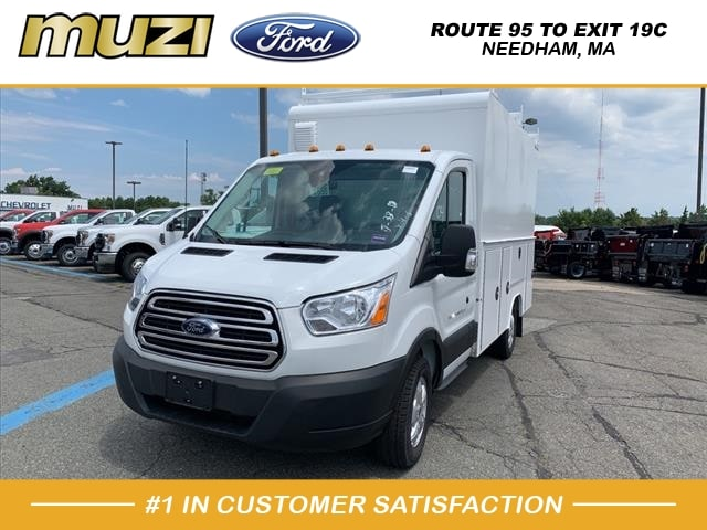 2019 Ford Transit 350 4x2, DURAMAG SERVICE BODY UNDER 10000# GVWR #SKA84346 - photo 1