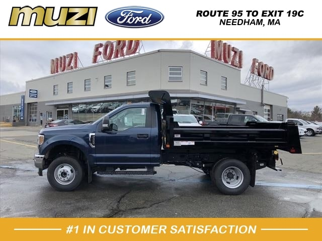 2019 F-350 Regular Cab DRW 4x4, Rugby Dump Body #SKE58136 - photo 1