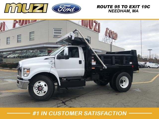 2019 Ford F-650 Regular Cab DRW 4x2, Rugby Dump Body #SKF00033 - photo 1