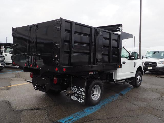 2019 Ford F-350 Regular Cab DRW 4x4, 9' LANDSCAPE BODY SWING DOORS IN REAR #SKG28728 - photo 19