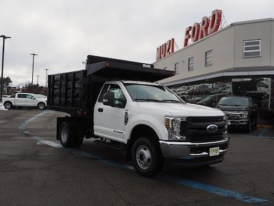 2019 Ford F-350 Regular Cab DRW 4x4, 9' LANDSCAPE BODY SWING DOORS IN REAR #SKG28728 - photo 16