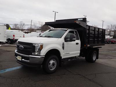 2019 Ford F-350 Regular Cab DRW 4x4, 9' LANDSCAPE BODY SWING DOORS IN REAR #SKG28728 - photo 17