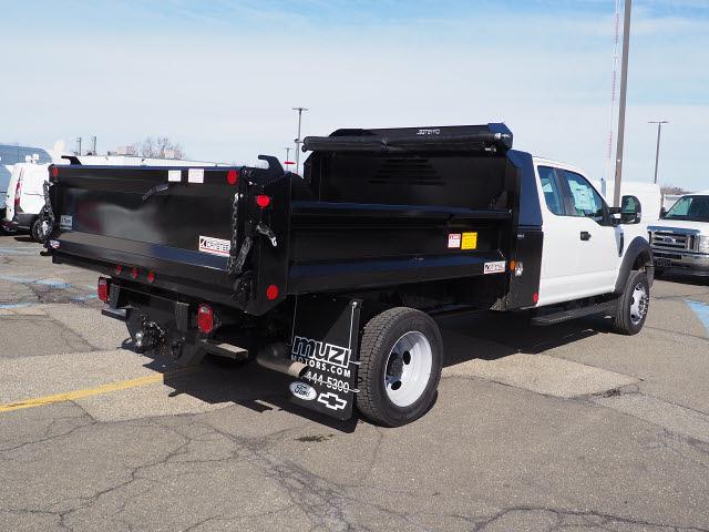 2020 Ford F-550 Super Cab DRW 4x4, Crysteel Dump Body #SLE52151 - photo 1