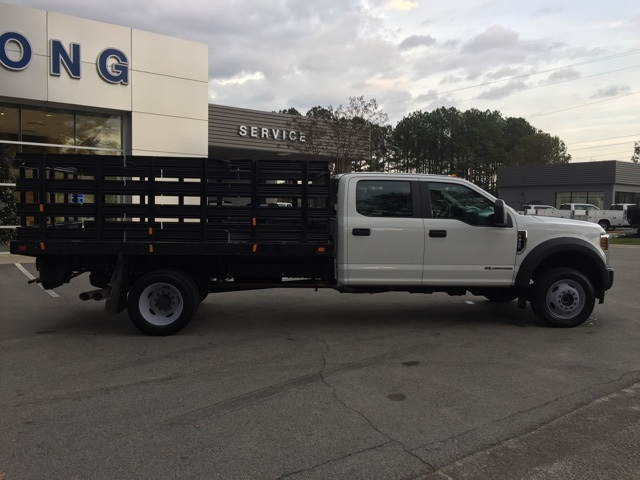 2019 Ford F-450 Crew Cab DRW 4x4, Stake Bed #3360U - photo 12