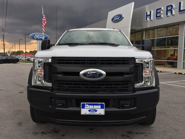 2019 Ford F-450 Crew Cab DRW 4x4, Stake Bed #3360U - photo 3