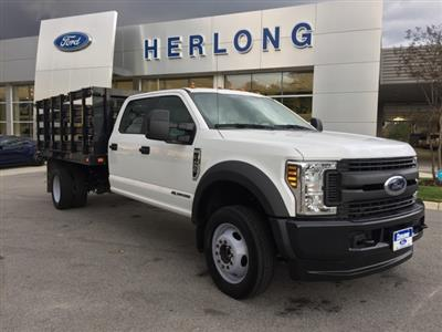 2019 Ford F-450 Crew Cab DRW 4x4, Stake Bed #3360U - photo 13